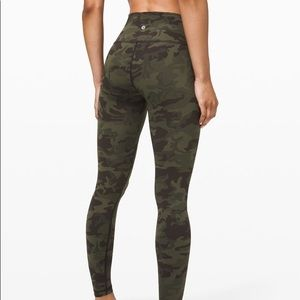 Lululemon camo leggings